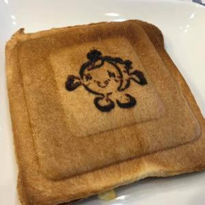 川越のマスコットキャラクター「ときも」のパン!