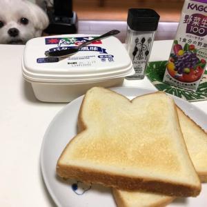 3日連続トーストの朝!