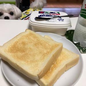 トースト続きな朝食!