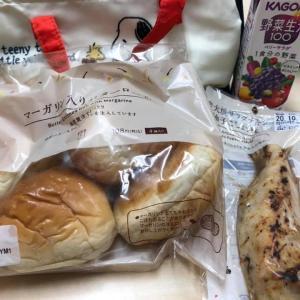 コンビニで買った昼食!