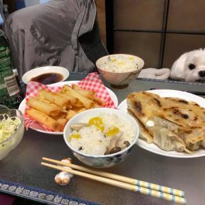 豪華夕食!手の込んだお夕食!