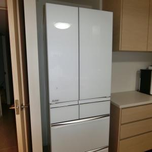 冷蔵庫の搬入