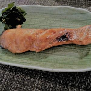焼き鮭の漬け