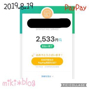 【PayPay】20%還元中!