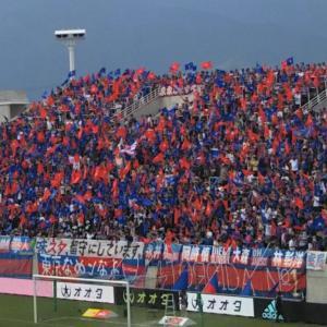 """<FC東京""""死のロード""""で迎えた山雅戦・・・>今季最高の観客動員数"""