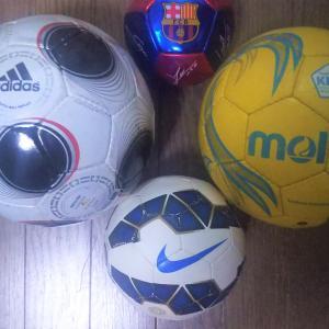 <サッカー選手に必要な物は?>マイコレクション・・・サッカーボール編