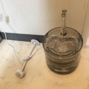 にゃんこ ペット用流れる水飲み器 その後