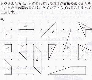 地元の悉皆調査2(ピックの定理)