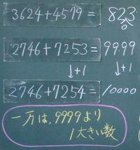 「一万をこえる数」導入