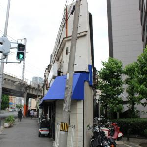 薄い建物 in Osaka and Hong Kong