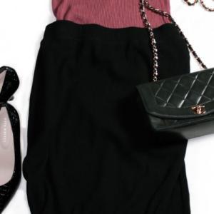 """④UNIQLO新作・リブタイトロングスカートは早くも名作の予感 着回しポイントは""""大人シック"""""""