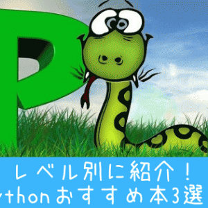 Pythonおすすめ本5選!レベル別に紹介!