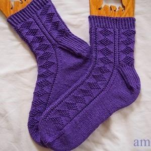 【socks】 DIAMOND GANSEY SOCKS