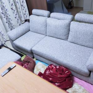 とうとうソファを買ったぞ!!