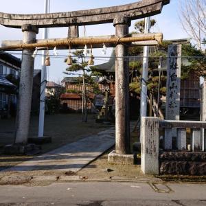白山神社と長瀬神社へ