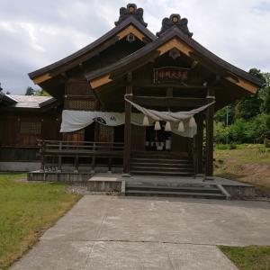 居多神社へ
