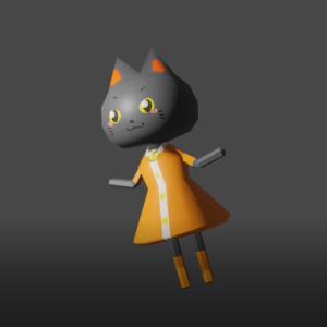ここまでできるようになったよ、Blender2.8でモデリング。
