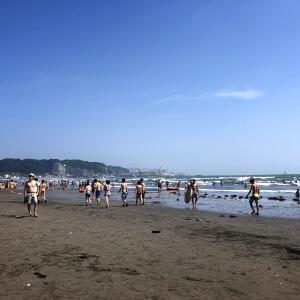 東京から電車で1時間の距離に、海と山があってよかった。〜鎌倉、由比ヶ浜海岸に行ってみた