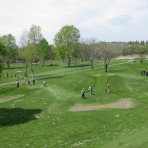 パークゴルフの大会で2位