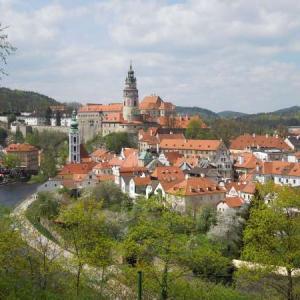 チェスキークルムロフはプラハから日帰りできるの?可愛い街に行く!