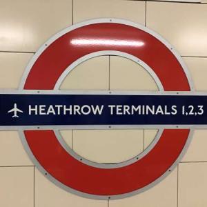 ヒースロー空港からロンドン市内へ地下鉄で移動したよ【2019】