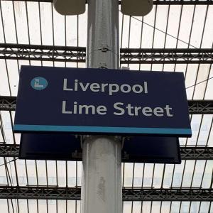 ロンドンからリバプールへ電車で移動!一人旅