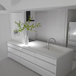 キッチン収納を変更。出しっぱなしでもスッキリ見せる方法