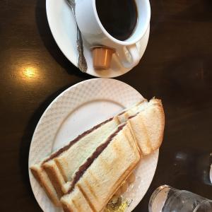 8月某日 モーニング喫茶 リヨン