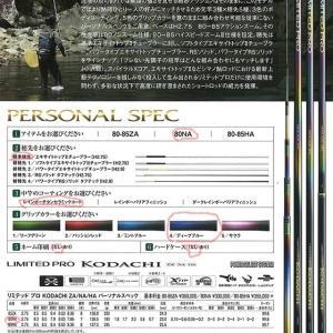 KODACHI  PERSONAL SPEC