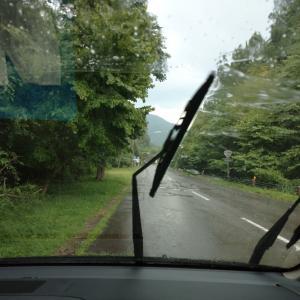 馬瀬川上流IN、雷雨?