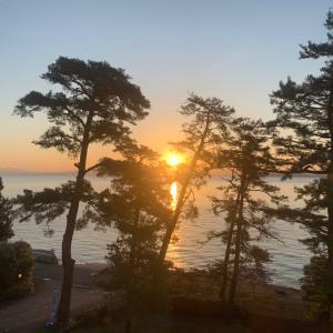 大好き!滋賀県びわ湖へ。のんびり一人旅に出かけて来ました♪【日の出と継体天皇編】