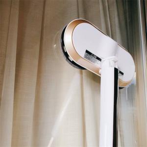 床や窓を回転モップで楽々水拭き掃除【充電式コードレスで自由自在】