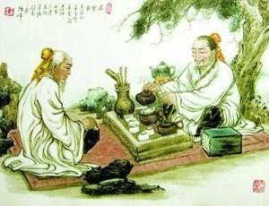 張岱(明末清初)、閔汶水老人の茶