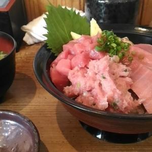 静岡のマグロ丼