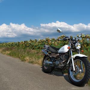 山錬 &バイクの試走