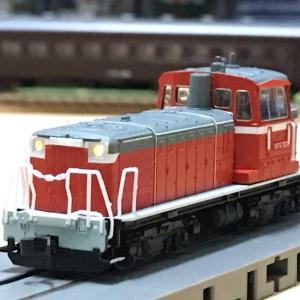 (マイクロ製DD16)ウチで最も小さな機関車