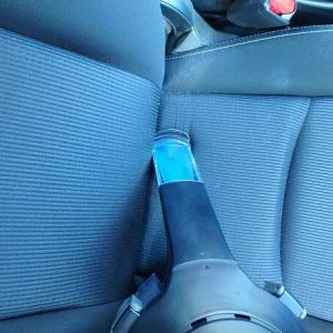 車のシートをDIYで水洗いしてみた