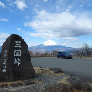 ぶらり箱根ドライブ(芦ノ湖スカイライン~箱根神社)(2020/02/18)