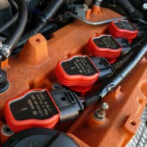 コルト(Z27AG)AUDI R8のイグニッションコイル流用で点火強化