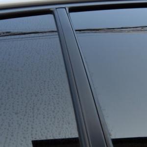 WRX S4(VAG)頑固なガラスのウロコ(ウォータースポット)を落としてみた