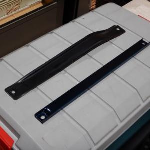 アルト(HA36S)角パイプでフロアバーを自作して補強してみた