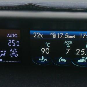 中央道燃費チャレンジ インプレッサG4(GJ7)で区間燃費25km/l達成