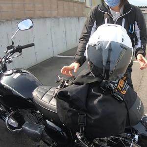 ヘルメットの修理