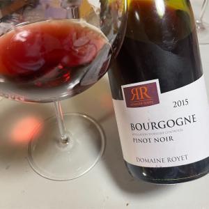 Bourgogne Pinot Noir 2015(Domaine Royet)