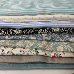 購入品👗花柄・水玉・ストライプの布