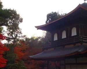銀閣寺の紅葉と銀沙灘が綺麗なので紹介したい