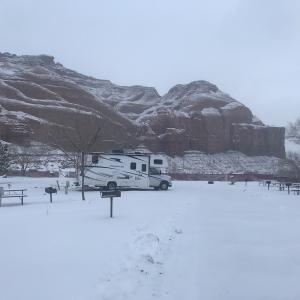 キャンピングカーで行く冬のグランドサークル子連れ旅行記8〜グールディングスキャンプグラウンド