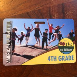 アメリカ在住の小学4年生必見!国立公園に1年間無料で入れます