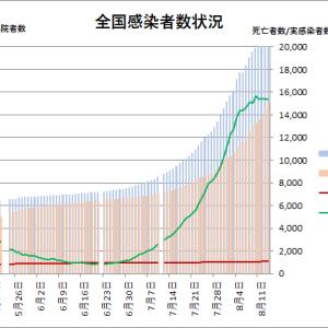 東京都の状況(その7):新型コロナウイルス=>高値安定?