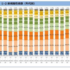 東京都の感染状況(その12):非常事態宣言発令後の動向